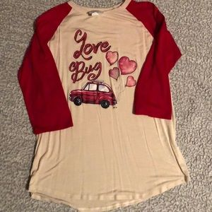 L&B Life women's Love Bug Shirt sz Med
